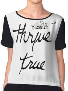 Thrive True Wishful Thinking Chiffon Top