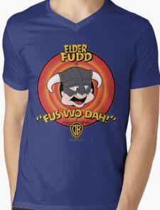 The Elder Fudd Mens V-Neck T-Shirt
