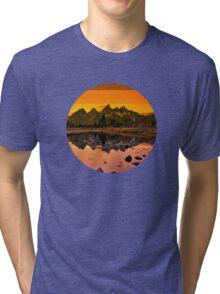 suntan mountains Tri-blend T-Shirt