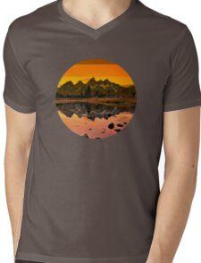 suntan mountains Mens V-Neck T-Shirt