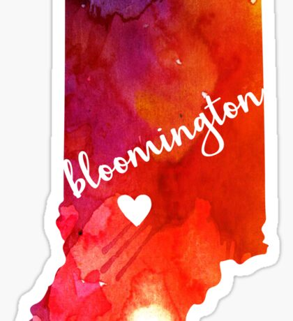 Bloomington Sticker
