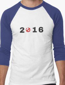 Ghostbusters 2016 Logo Men's Baseball ¾ T-Shirt