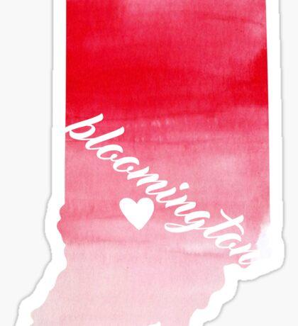Bloomington Sticker