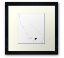 Home Is Where The Land Is Framed Print