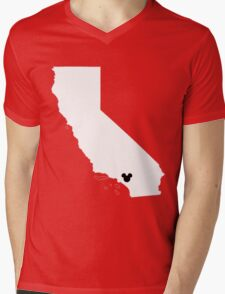 Home Is Where The Land Is Mens V-Neck T-Shirt