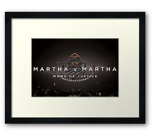 Martha Framed Print