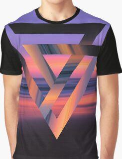 Neon Sky Graphic T-Shirt