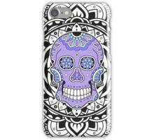 Mandala Skull Color iPhone Case/Skin