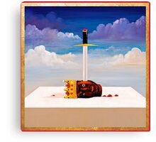 sword ye Canvas Print