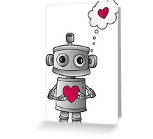 Valentine Robot Greeting Card