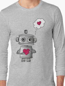 Valentine Robot Long Sleeve T-Shirt