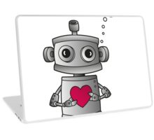 Valentine Robot Laptop Skin