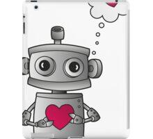 Valentine Robot iPad Case/Skin