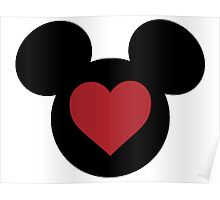 Love Mickey Poster