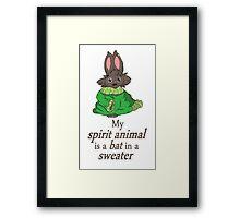 My Spirit Animal Framed Print