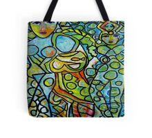 Green Goddesses Tote Bag