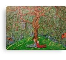 """Under the tree"" Canvas Print"