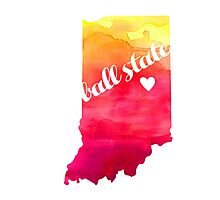 Ball State Photographic Print