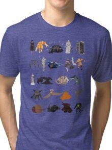 Demon's Souls bosses Tri-blend T-Shirt