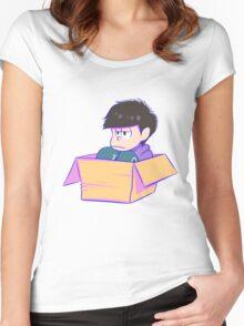 Ichimatsu (Normal) Women's Fitted Scoop T-Shirt