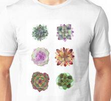 Succulents | Plants - Watercolor Unisex T-Shirt
