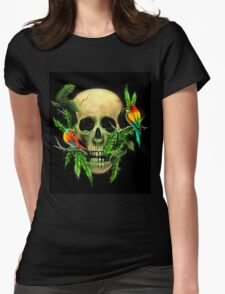 Life & Death Womens Fitted T-Shirt