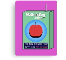 MotherBoy Juice Canvas Print
