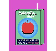 MotherBoy Juice Photographic Print