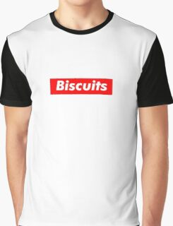 Biscuits - Box Logo Graphic T-Shirt