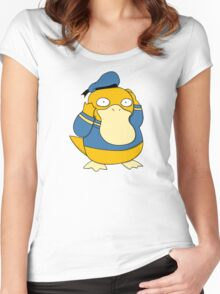 Donald Psyduck Women's Fitted Scoop T-Shirt