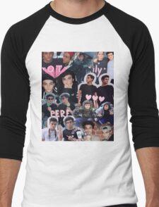 Dolan twins collage Men's Baseball ¾ T-Shirt