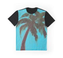 Single Palm Graphic T-Shirt