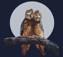 Owl Tee by Robin Monroe