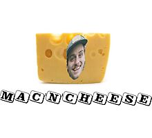 Mac (DeMarco) 'n' Cheese Photographic Print