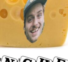 Mac (DeMarco) 'n' Cheese Sticker