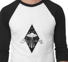 Stay Curious Men's Baseball ¾ T-Shirt