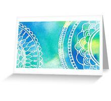 Pacific Zen Greeting Card