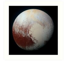 Pluto (Highest Resolution) Art Print