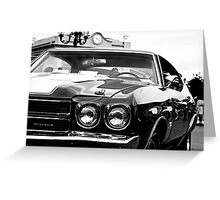 1970 Chevy Chevelle SS Greeting Card