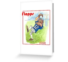 Tom Brady Trading Card Greeting Card
