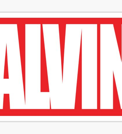 ALVIN COMICS! Sticker