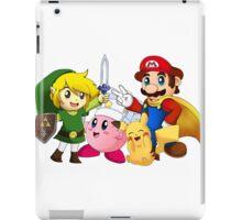 Classic Nintendo Heroes! iPad Case/Skin