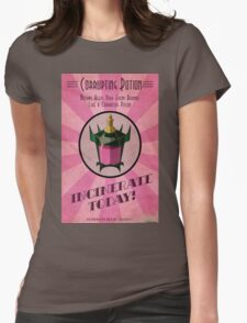 Corrupting Potion Art Deco poster Womens Fitted T-Shirt