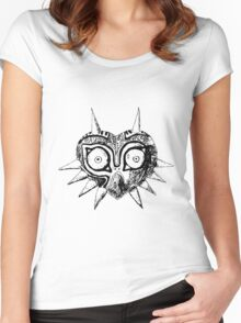 Majora's Mask Sketch Women's Fitted Scoop T-Shirt