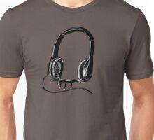 Gory Headphones Unisex T-Shirt