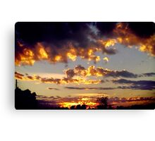 Shining Bright Canvas Print