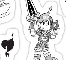 Crystal Story – Dawn of the Knight Sticker Set Sticker
