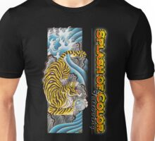 Splash of Color - Tiger Unisex T-Shirt