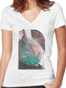 A Doorway to the Heavens  Women's Fitted V-Neck T-Shirt