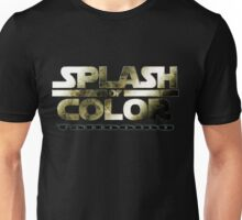 Splash of Color - Jedi Unisex T-Shirt